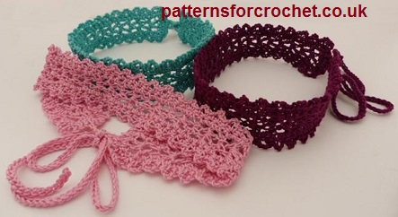 Free Crochet Pattern For Choker Necklace : Free crochet pattern choker necklace usa