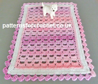Free crochet pattern table centre piece usa