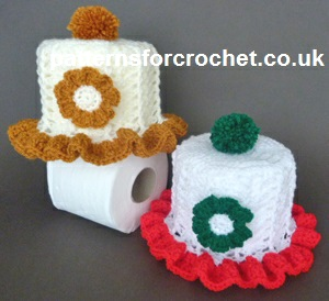 Free Crochet Pattern Frilled Toilet Roll Cover Uk