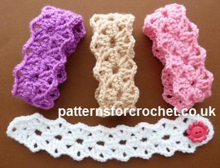 Free Crochet Pattern Pointy Bracelet Uk