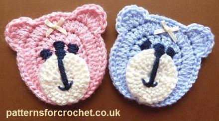 Sleep Tight Teddy Bear Blanket, crochet ideas. Pattern: https ... | 244x440